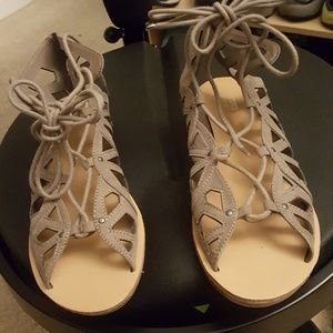 Mossimo lace up sandals